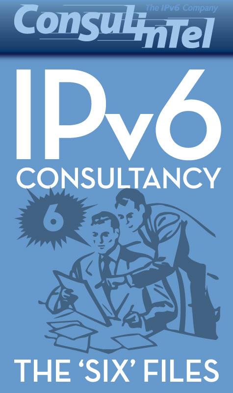 Anuncio para Facebook de symp para The IPv6 Company: IPv6 Consultancy