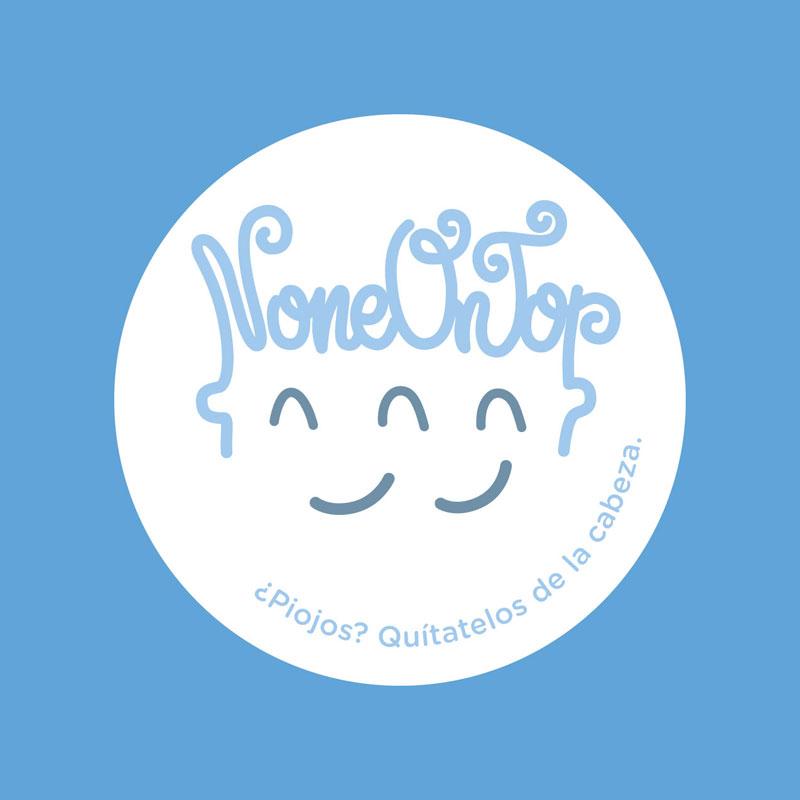 Diseño de symp para None On Top. Logotipo distancia social