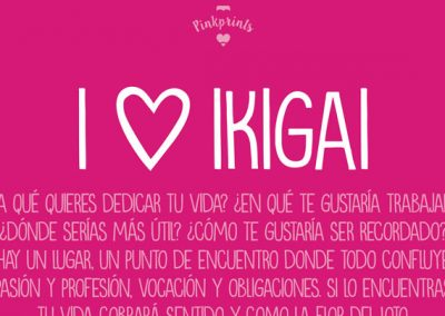 Pinkprint#02: I LOVE IKIGAI…