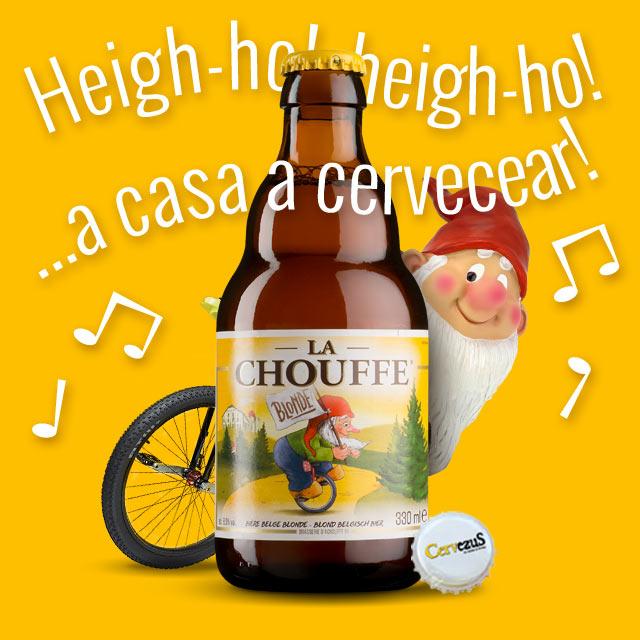 CervezuS. Blog posts: 38 Aniversario de las cervezas La Chouffe en el boletín de la tienda online de CervezuS