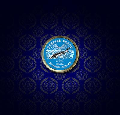 Caspian Pearl :: creación de arabesco para 'La Marca del Caviar'