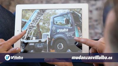 Mudanzas Villalba. Spot TV
