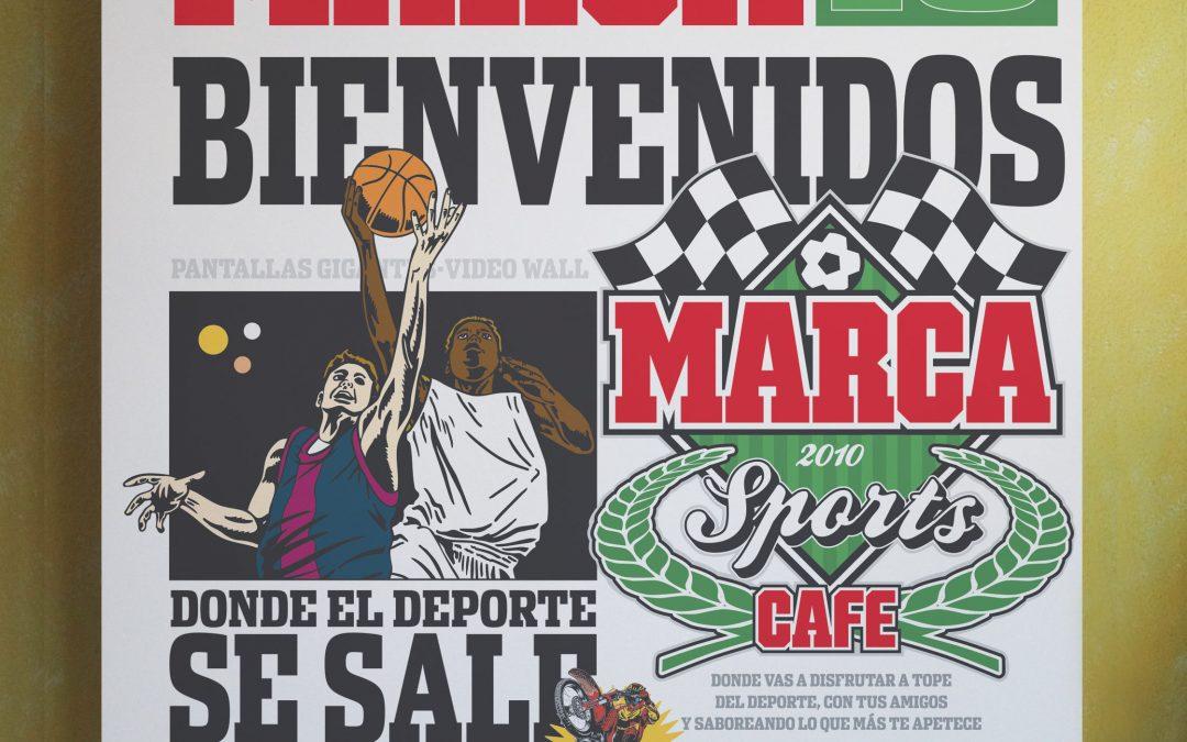 MARCA Sport Café :: videowall de presentación