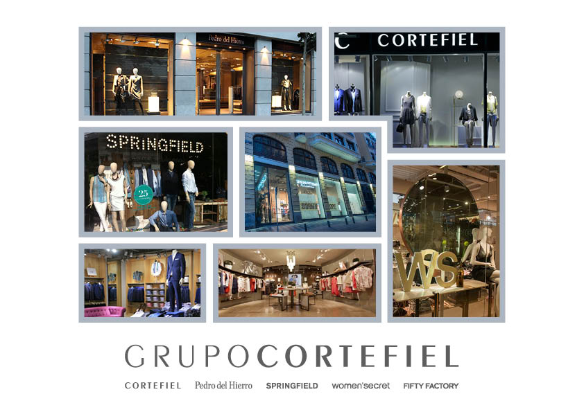 Grupo Cortefiel :: Presentación para franquicias