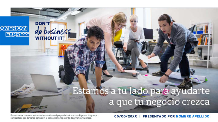 American Express :: presentaciones en Power Point