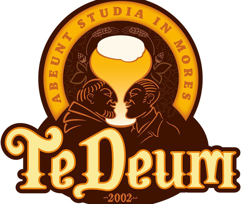 Te Deum Cerveza de Abadía :: emblema comercial y packaging