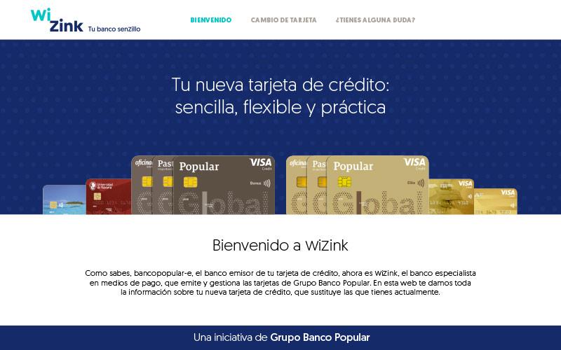 WiZink Bank :: Campaña Banking recarding y post recarding