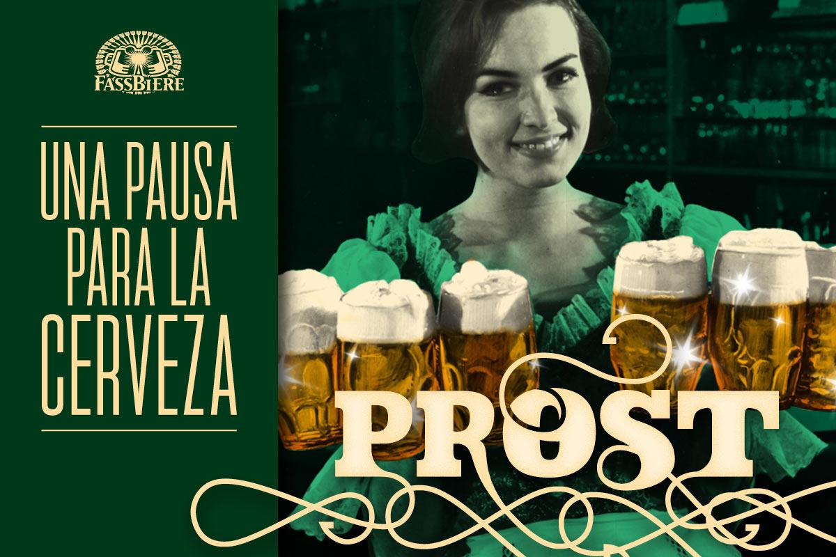 Fassbiere: Una pausa para la cerveza