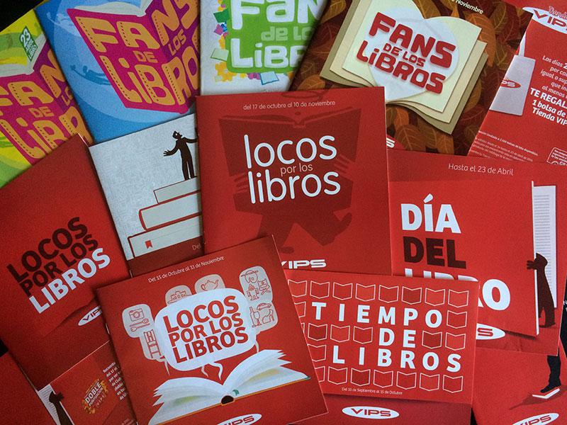 VIPS Tiendas :: Catálogos de libros