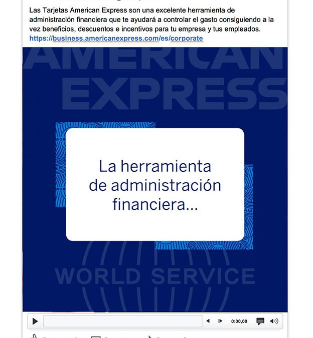 American Express Corporate :: animaciones para RRSS
