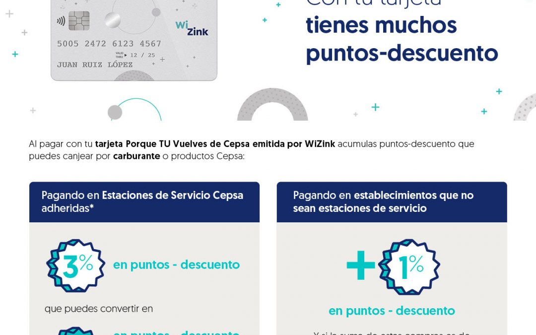 WiZink Bank :: Microsite para tarjetas Porque TU Vuelves de Cepsa