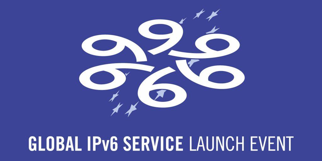 Logo monocolor de symp para Global IPv6 Service Launch Event