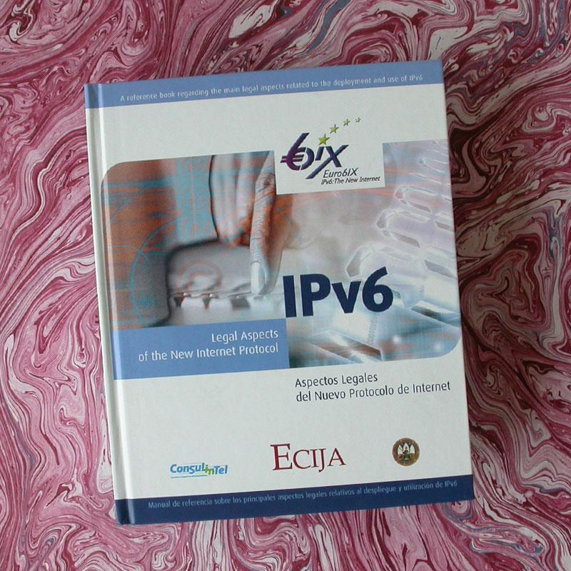 symp: diseño y maquetación del libro IPv6 Aspectos legales del nuevo protocolo de Internet