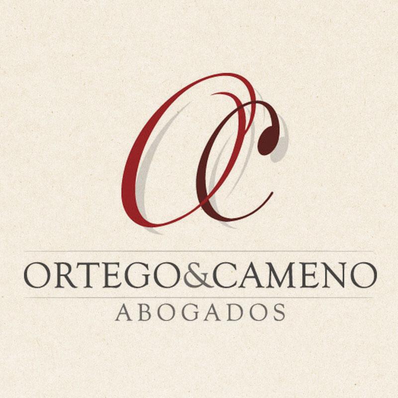 Papelería diseñada por symp para Ortego y Cameno Abogados