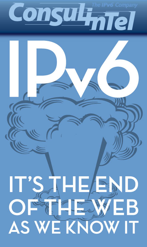 Anuncio para Facebook de symp para The IPv6 Company: IPv6 The New Internet