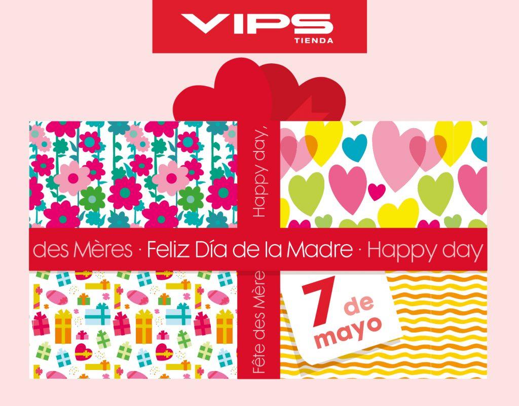 symp: banner promocional Día de la Madre para VIPS Tienda