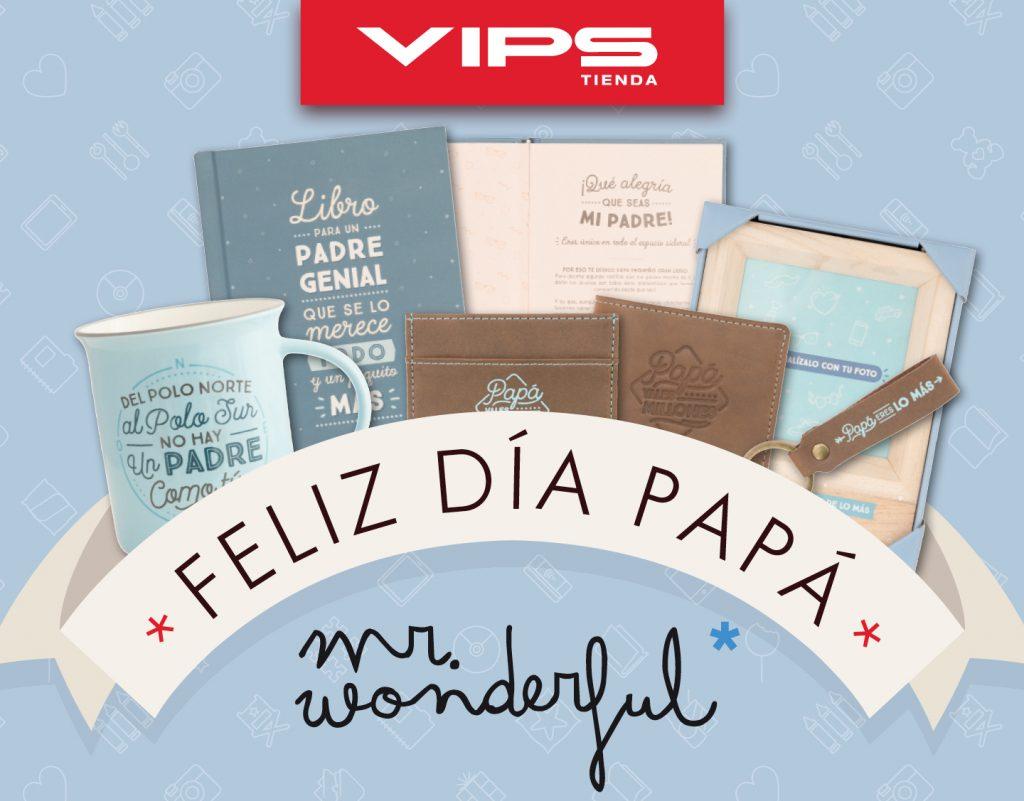 symp: banner promocional Mr. Wonderful para VIPS Tienda