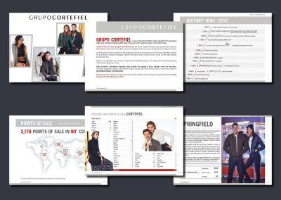 Dosier de prensa Grupo Cortefiel (Tendam)