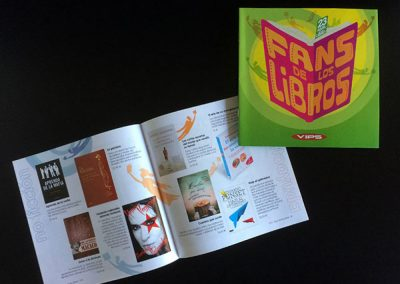 Catálogo de libros para tiendas VIPS