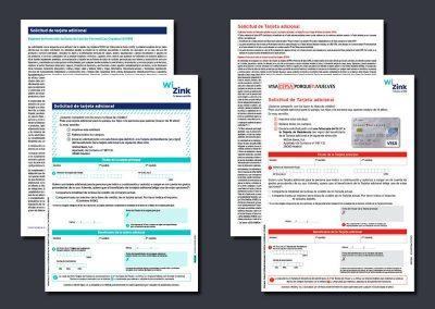 Solicitudes tarjetas de WiZink Bank