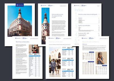 Informe sobre Tax Free en España emitido por Global Blue