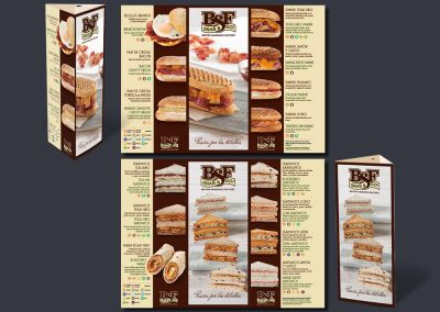 Prismas de productos de British Sandwich Factory
