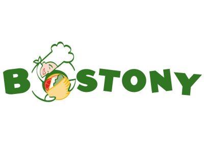 Logotipo de symp para restaurante de comida rápida selecta