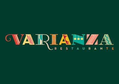 Logotipo de symp para restaurante Varianza