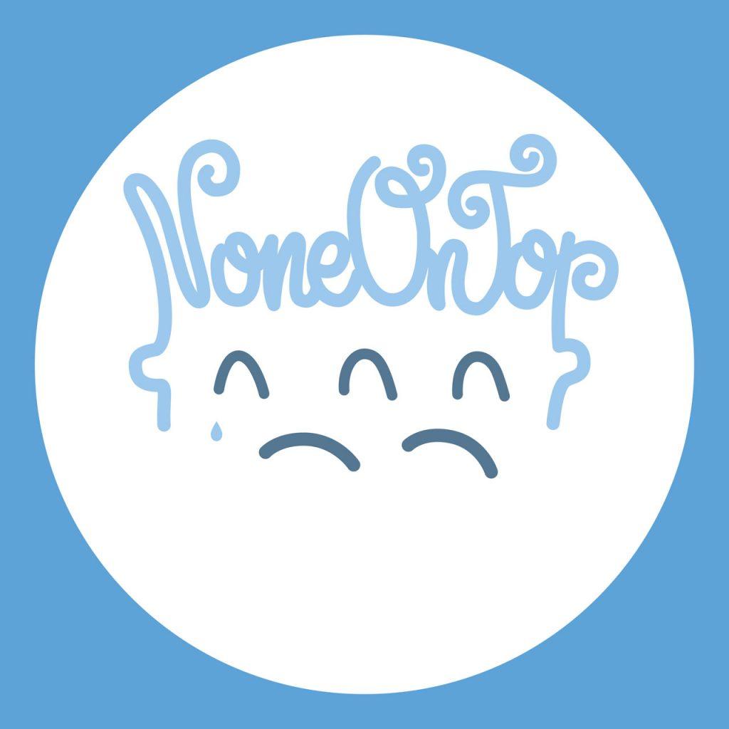 Diseño de symp para None On Top. Logotipo cierre actividad