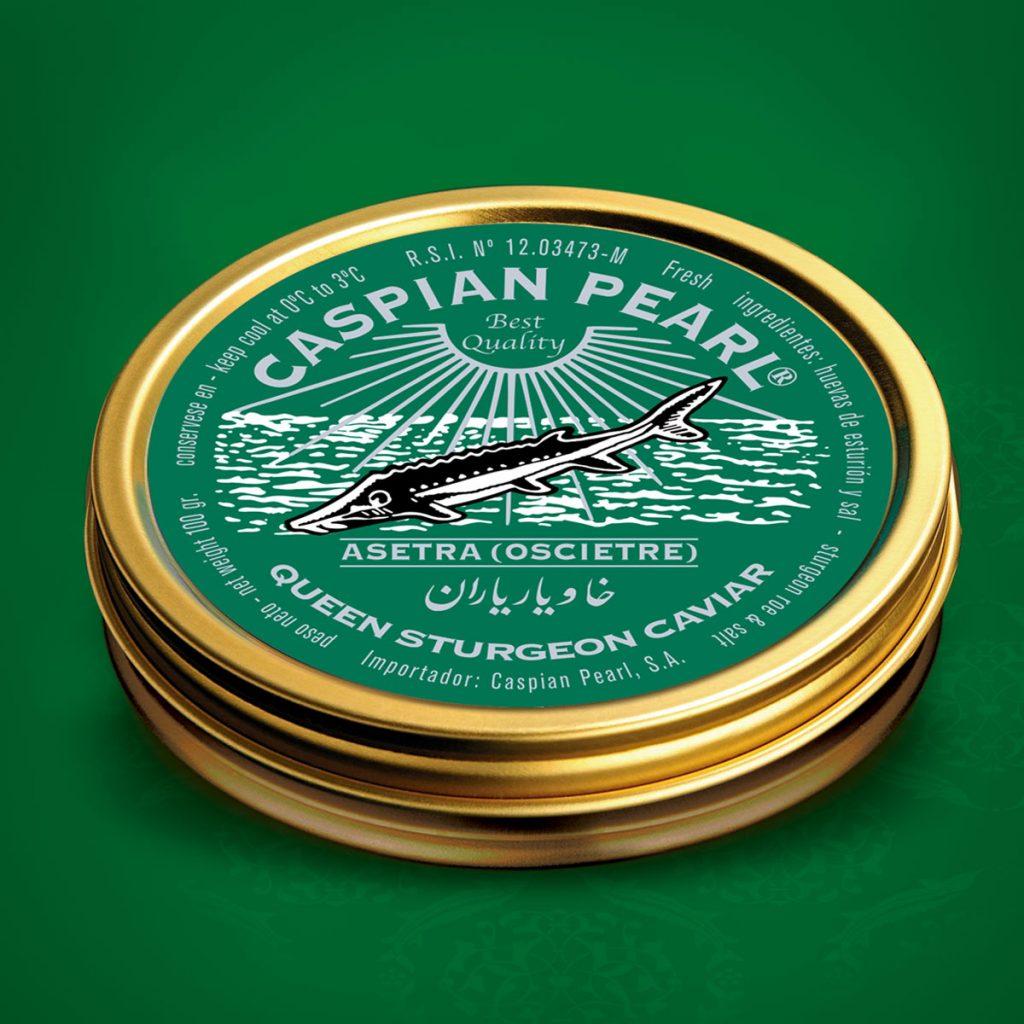 Caspian Pearl. Posts en Instagram para La Marca del Caviar. Caviar Asetra