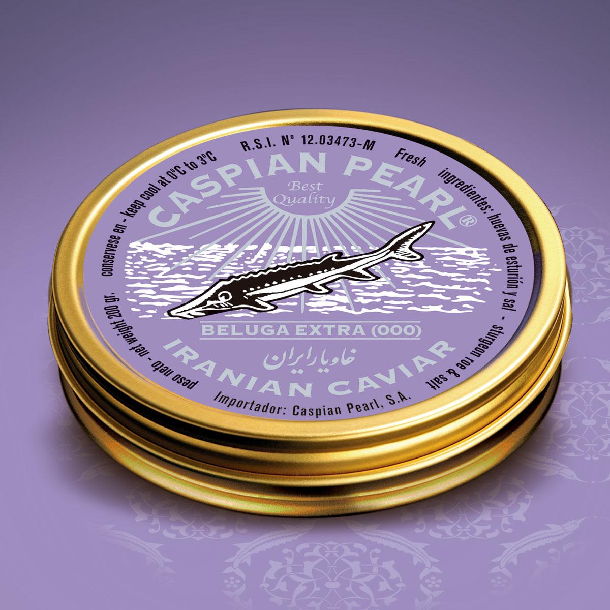 Caspian Pearl. Posts Instagram para La Marca del Caviar. Caviar Beluga Imperial Extra (000)