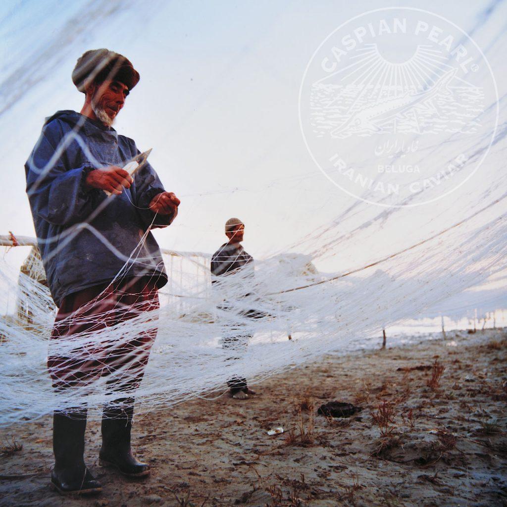Caspian Pearl. Posts en Instagram para La Marca del Caviar. Pescador iraní
