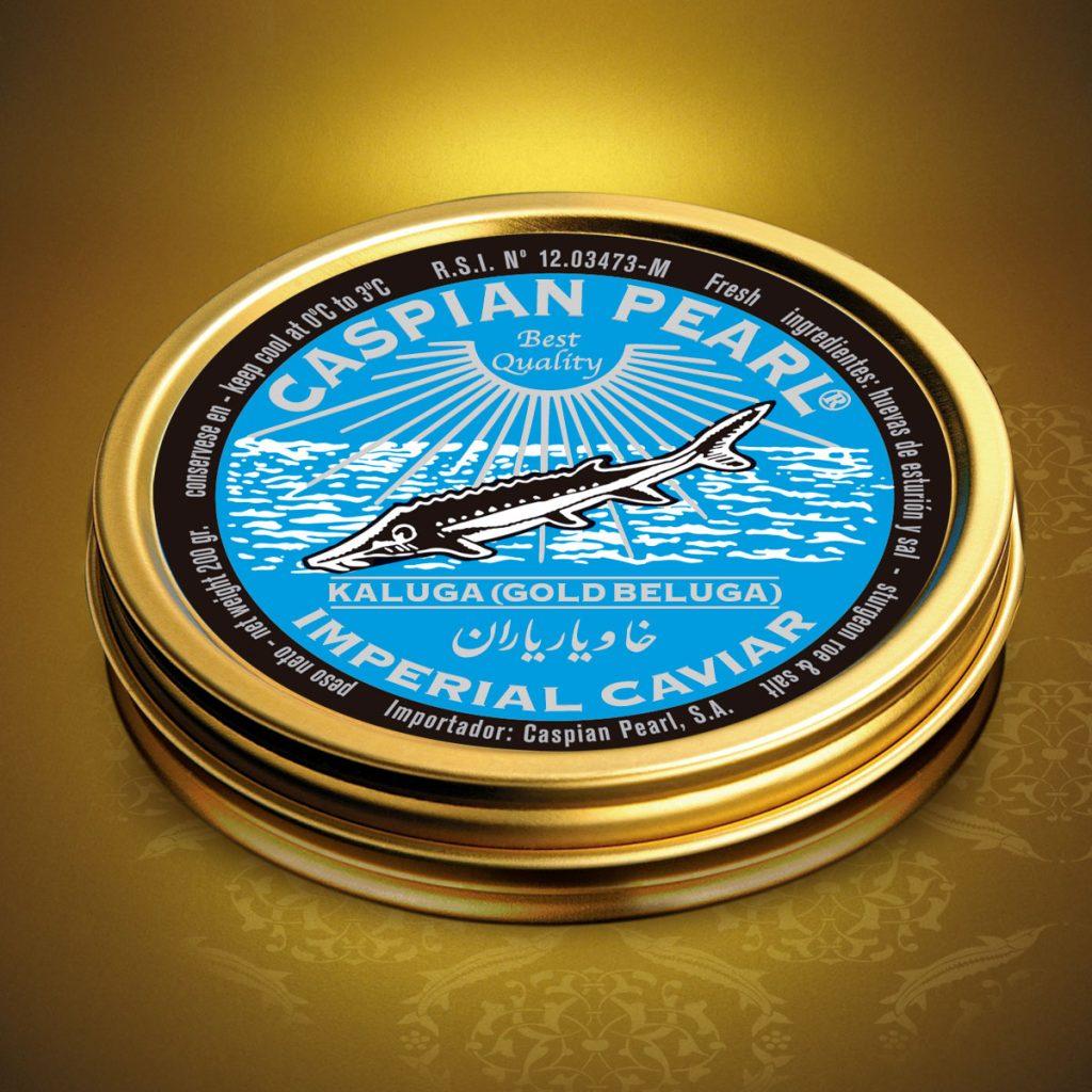 Caspian Pearl. Posts en Instagram para La Marca del Caviar. Caviar Kaluga