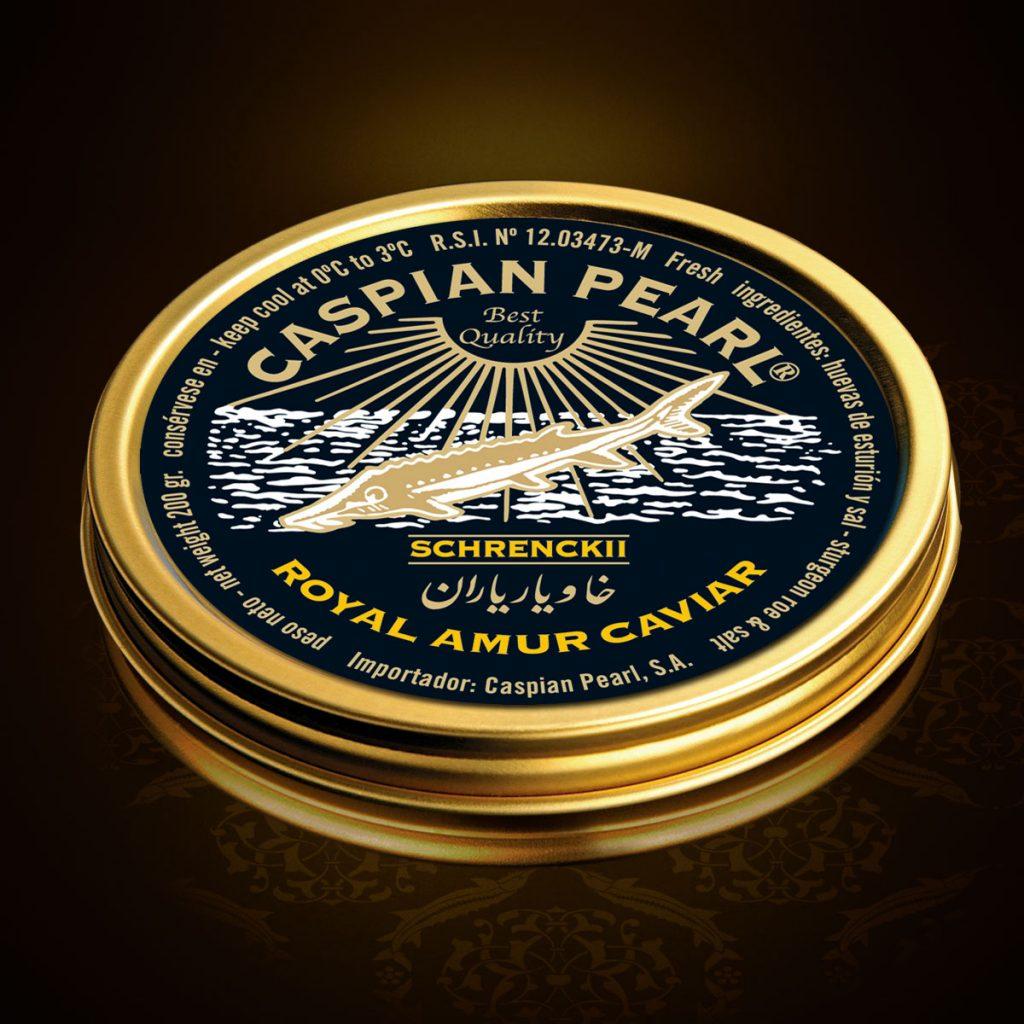 Caspian Pearl. Posts en Instagram para La Marca del Caviar. Caviar Schrenckii Royal Amur.