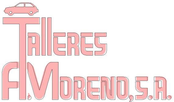 Talleres A. Moreno. Creación y diseño web neumaticosamoreno. El logotipo del cliente antes y después.