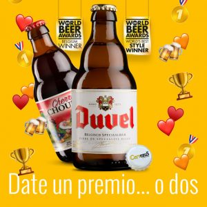 CervezuS. Blog posts: Duvel y Cherry Chouffe, premiadas en los World Beer Awards de 2020