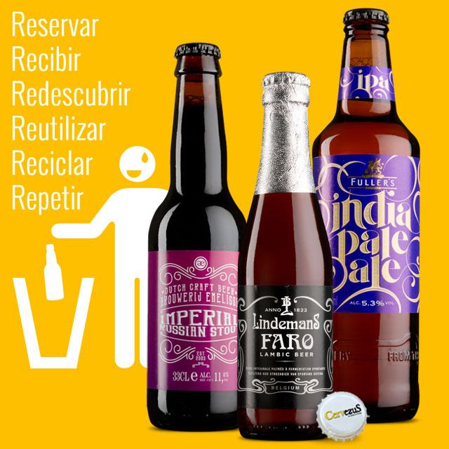 CervezuS. Blog posts dedicado a las cervezas con etiquetado caligráfico