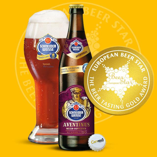 CervezuS. Blog posts Premio European Beer Star a la Schneider Weisse Aventinus Doppelbock