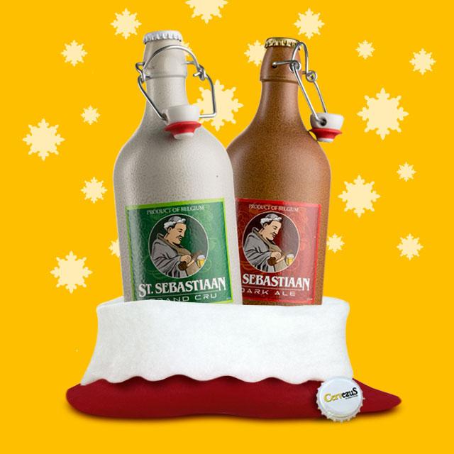 CervezuS. Blog posts navideños para las cervezas ST.Sebastiaan