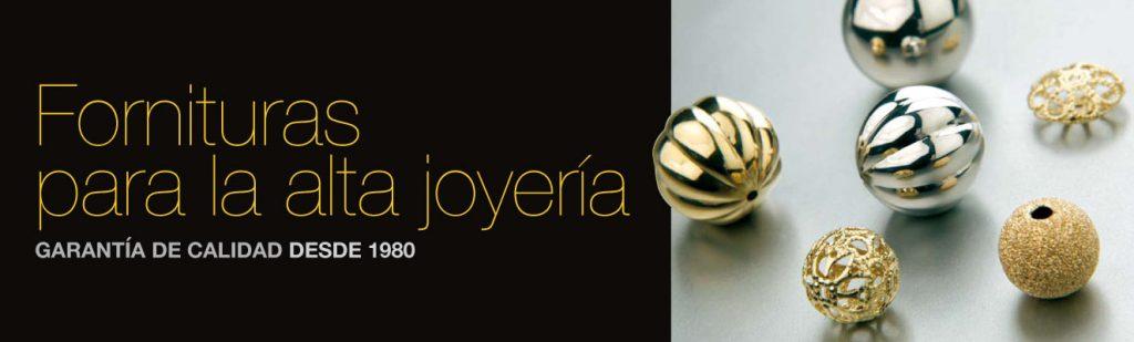 Fornituras de Joyería. Catálogo web: Banner display Fornituras para la Alta Joyería