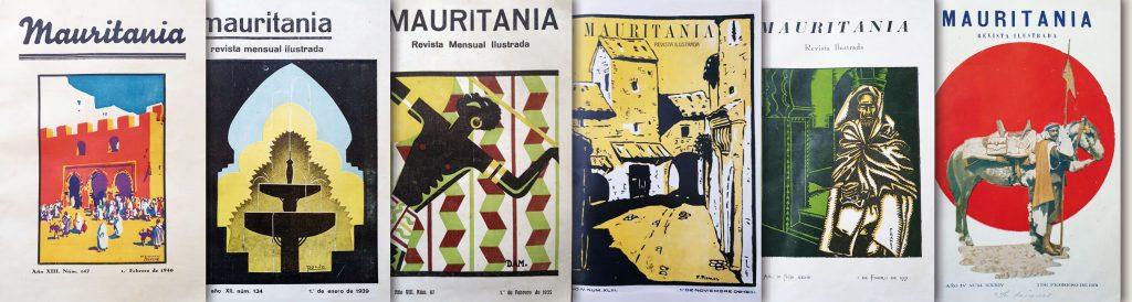 Portadas de la revista Mauritania