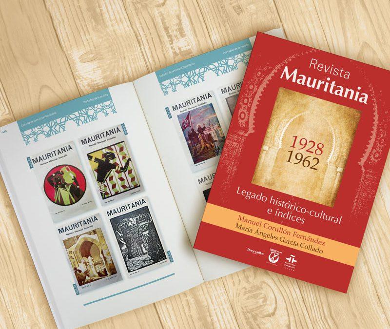 Instituto Cervantes. Maquetación libro «Revista Mauritania»