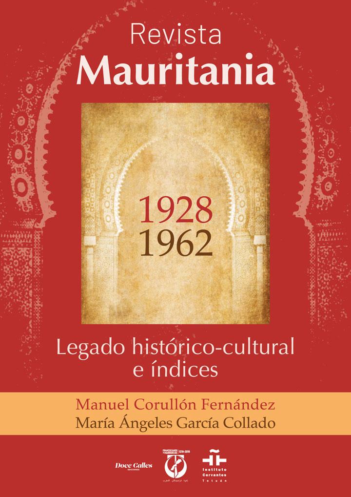 """symp: Portada para la maquetación del libro """"Revista Mauritania"""""""
